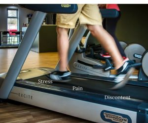 Pain and Stress as Teachers - or the treadmill