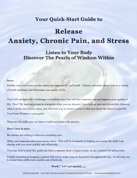 5-step Quick-Start Guide to Release Anxiety, Chronic Pain, and Stress
